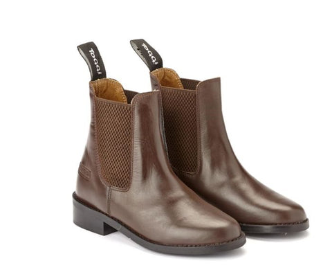 Toggi Ottawa Childrens Jodhpur Boots - Brown