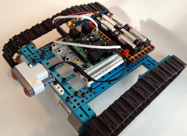 LEGO Mindstorms, LEGO Mindstorms EV3, and LEGO NXT combined with Makeblock