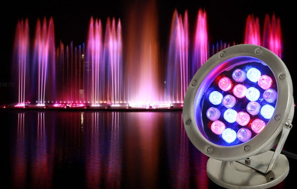 Jakkvok Waterproof Underwater Submersible Spotlights