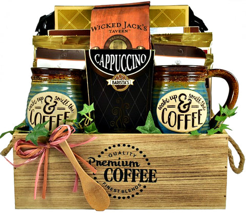 egift cards, coffee gifts, coffee gift baskets, coffee presents