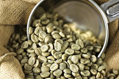 unroasted coffee beans, raw coffee beans, green coffee beans