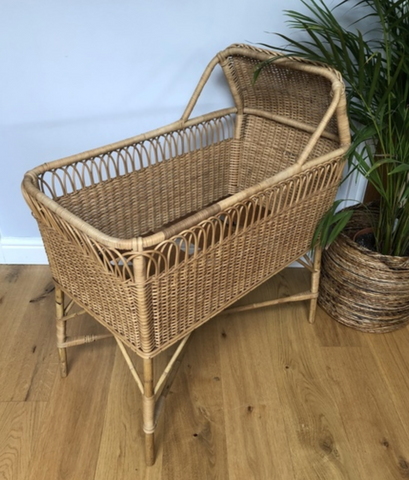 Willa and The Bear Blog | Vinterior Wicker Cot