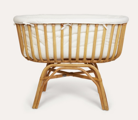 Willa and The Bear Blog | Kidly Rattan Cradle