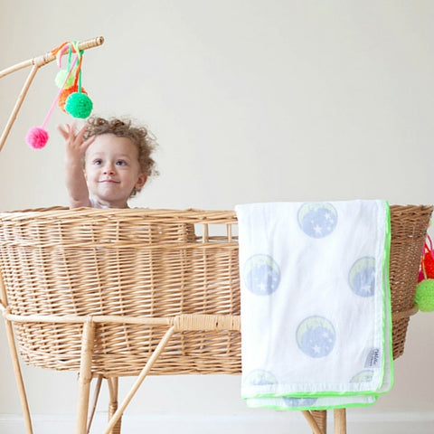 willa and the bear vintage wicker moses basket