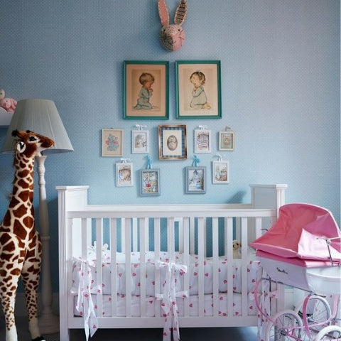Nicky Hilton's traditional baby girl nursery