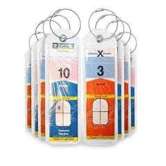 Raqpak Cruise Luggage Tags Holders 8 Pieces