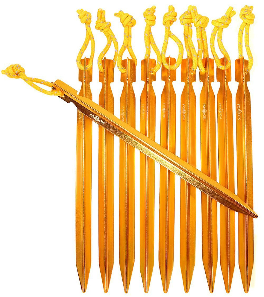 Raqpak Aluminum Y-beam Tent Stakes  sc 1 st  Raqpak.com : do tents come with stakes - memphite.com