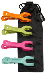 Raqpak Beach Towel Clips Set