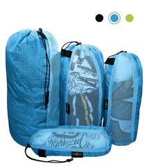 Raqpak 4 Stuff Sacks Set with Mesh Siding