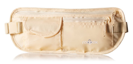 Raqpak Travel Money Belt (front)