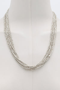 Moksha beaded short necklace - Mie-Style