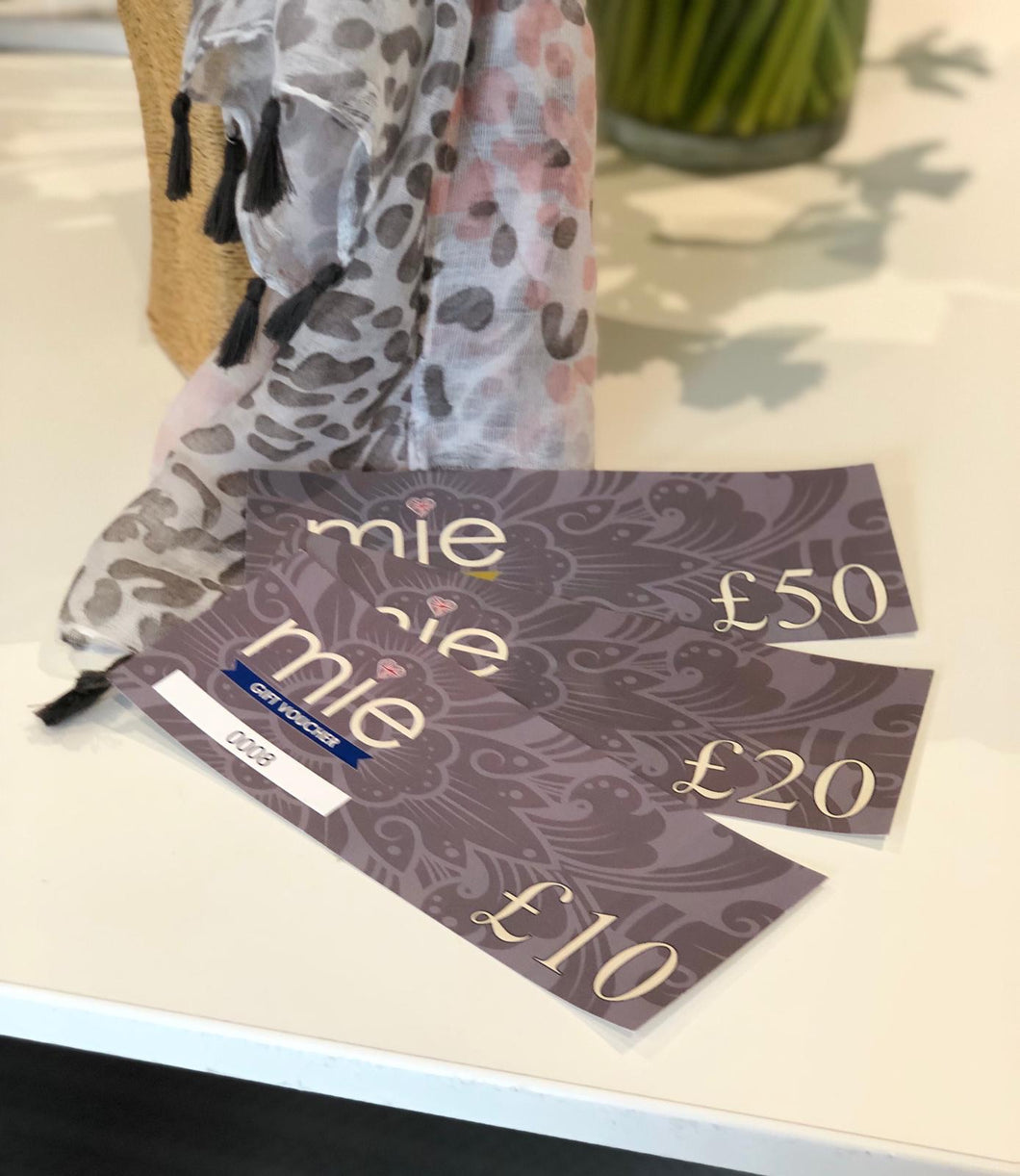 Gift voucher £50 - Mie-Style