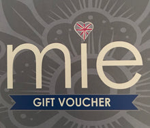 Load image into Gallery viewer, Gift voucher £10 - Mie-Style