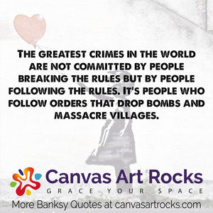 109 Never Before Seen Banksy Quotes And Sayings