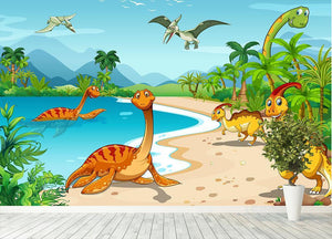 How to Pick the Perfect Dinosaur Wallpaper Mural for Your Kids Bedroom