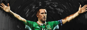Ireland Football Prints