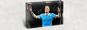 Manchester City Football Acrylic Block