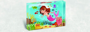 Mermaid Acrylic Block