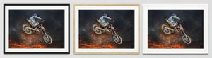Motorbike Framed Prints