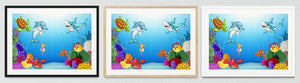 Underwater Framed Prints