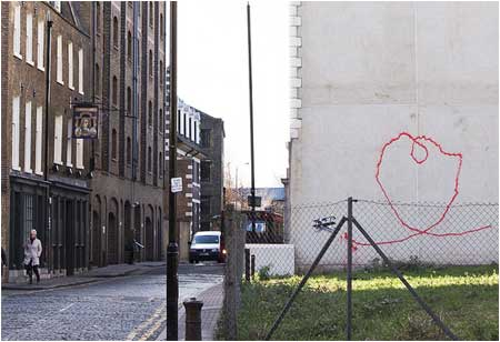 Banksy Love Plane - London and Liverpool
