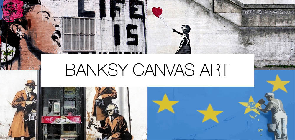 Banksy Canvas Prints