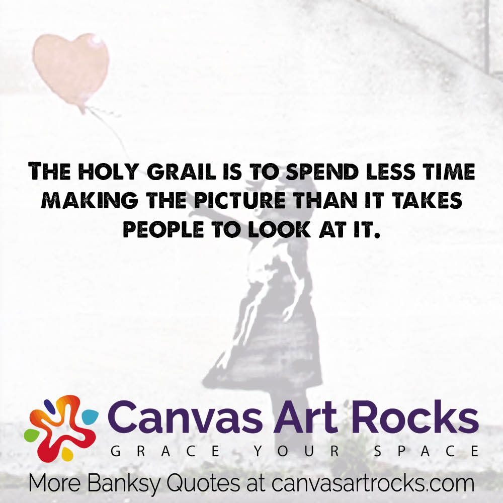 The holy grail is to spend less time making the picture than it takes people to look at it.