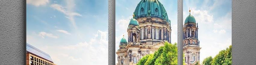 Berlin Multi Panel Canvas Prints