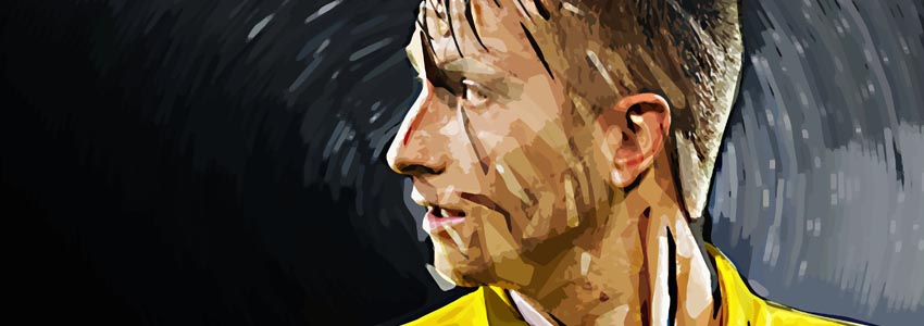 Borussia Dortmund Football Prints