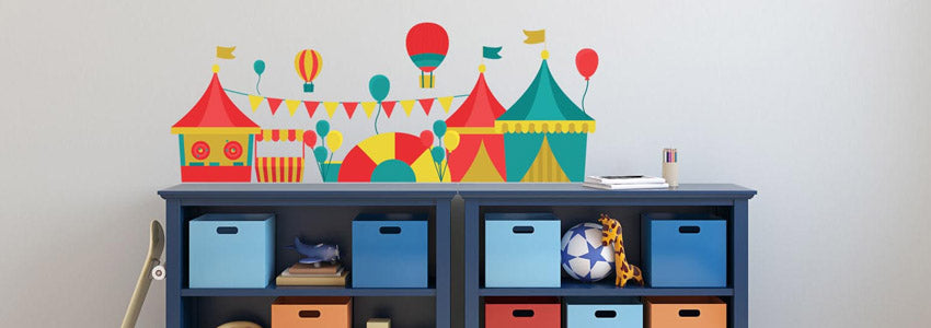 Girl Circus Wall Stickers
