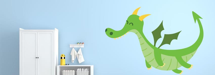 Dragon & Fantasy Wall Stickers