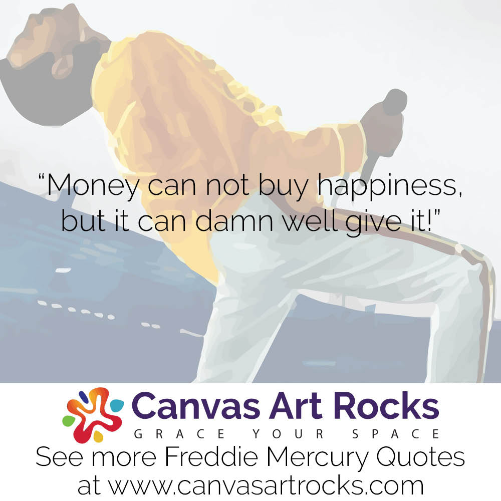 Money can not buy happiness, but it can damn well give it!