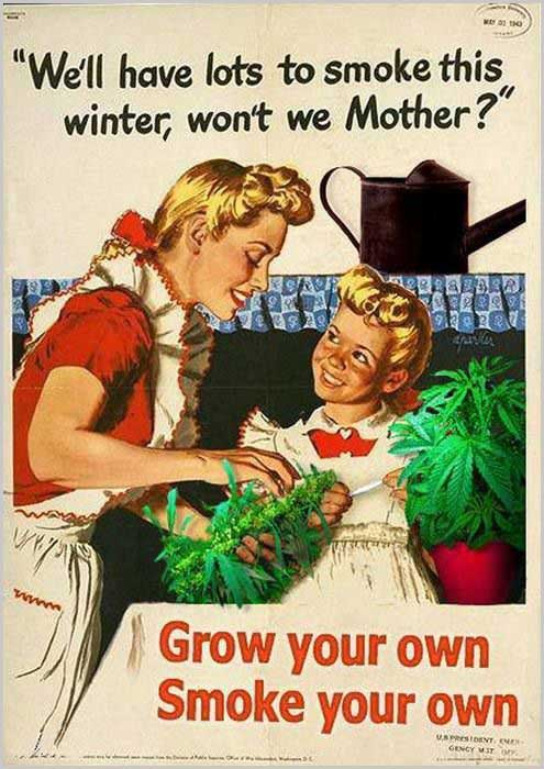 Grow your own vintage ad