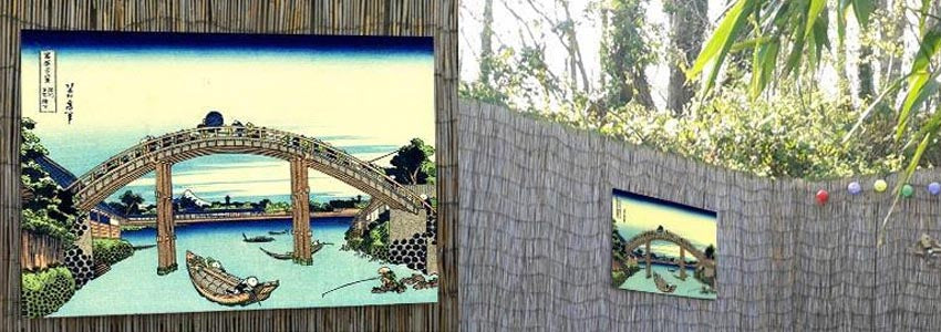 Hokusai Outdoor Metal Prints