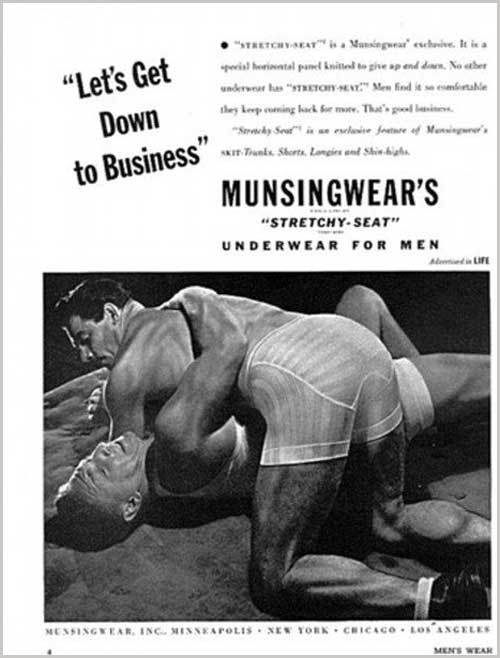 Lets get down to business vintage ad