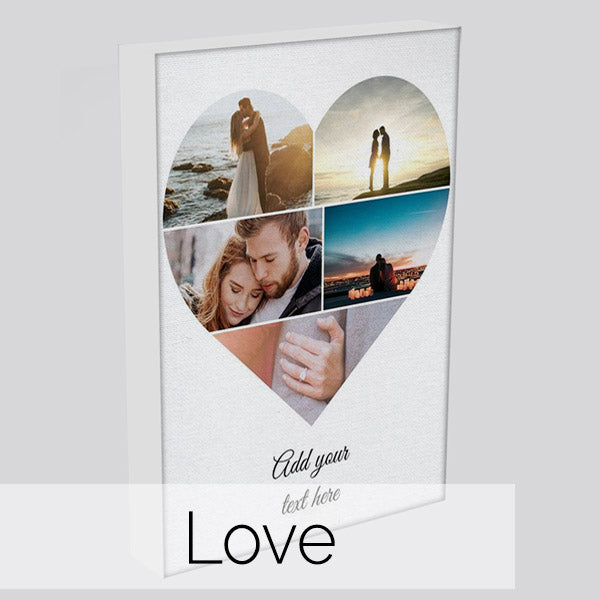 Personalised Love & Wedding Canvas Art