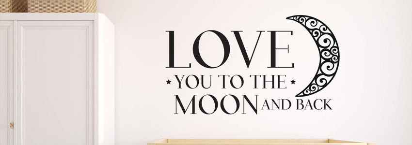 Love Quote Wall Stickers Canvas Art Rocks