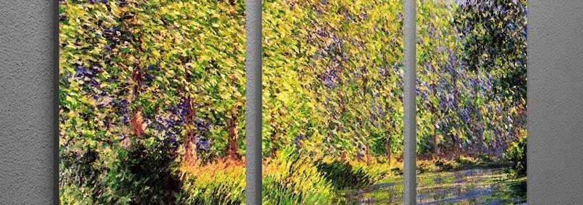 Monet Multi Panel Canvas