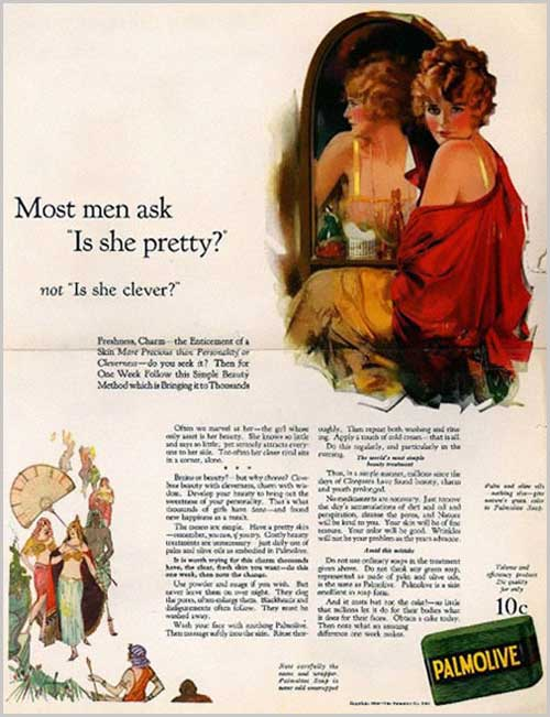 Most men as is she pretty vintage ad