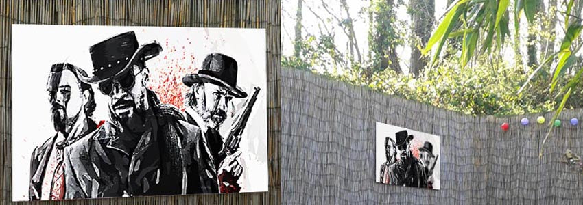 Movie Outdoor Metal Prints