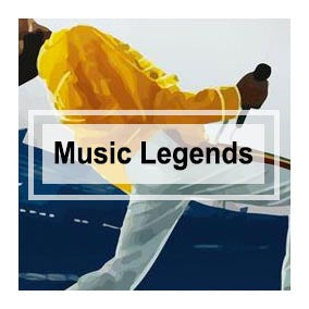 Music Legends Canvas Art