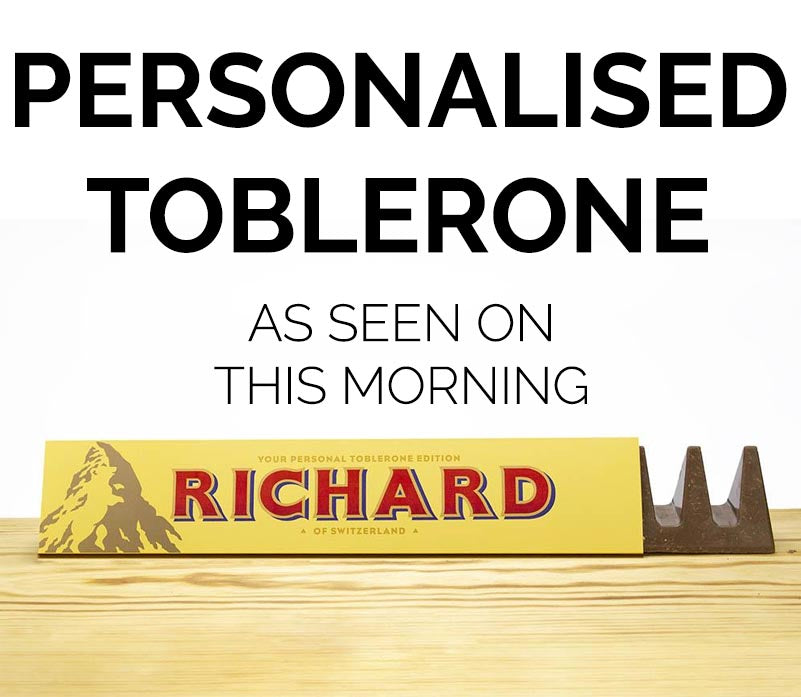 Personalised Toblerone