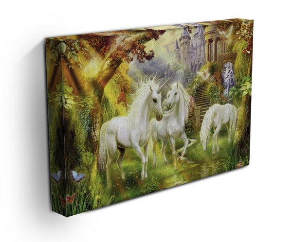 Unicorn Kingdom Canvas Print