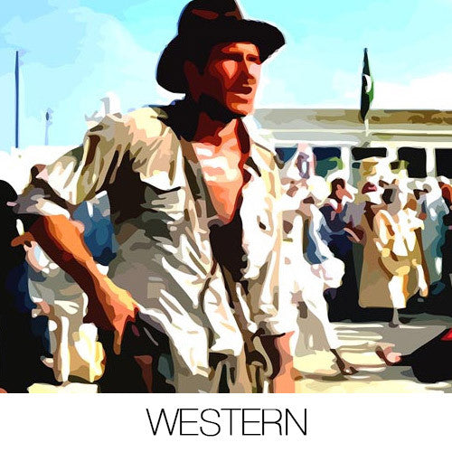 Western Canvas Prints