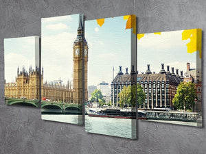 4 Split Panel Canvas Prints