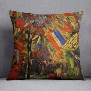 14 July in Paris by Van Gogh Cushion
