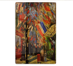 14 July in Paris by Van Gogh HD Metal Print