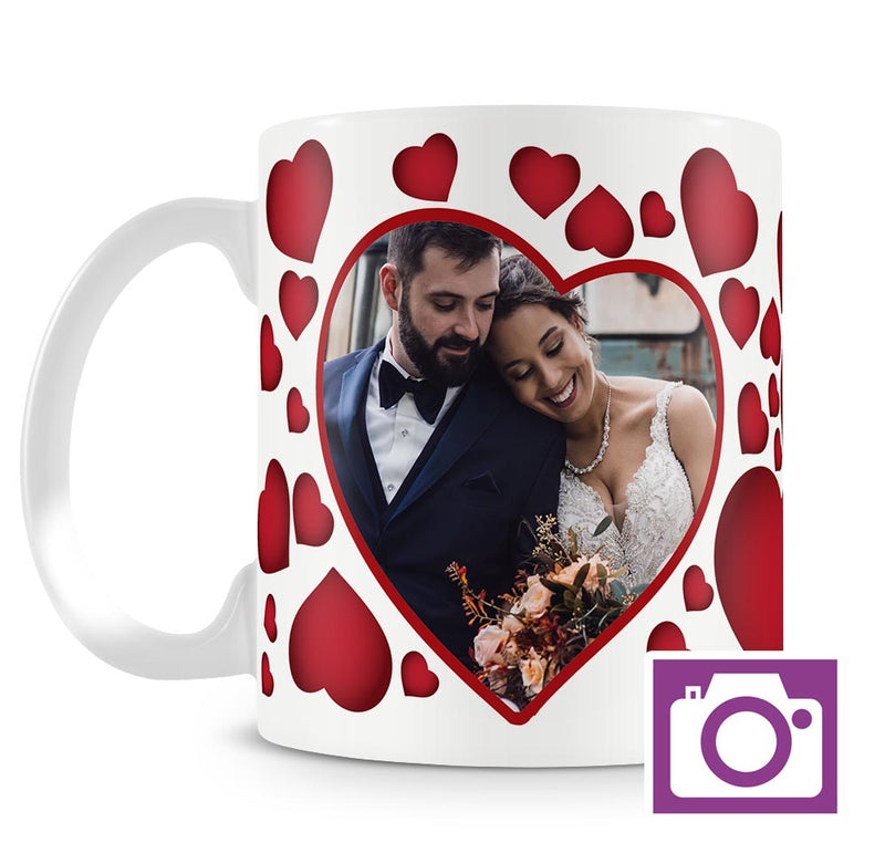Personalised Mug - Scatter Heart a