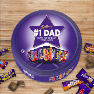 Personalised Cadbury Heroes Metal Tin
