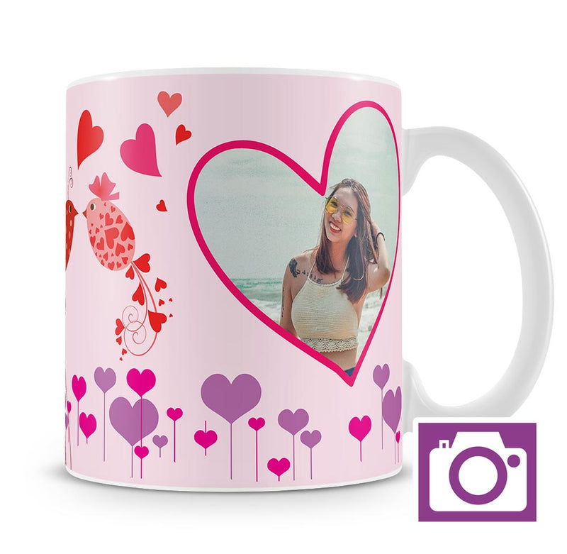 Personalised Mug - Love Birds a